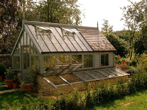 Shed With Greenhouse by Greenhouse Potting Shed