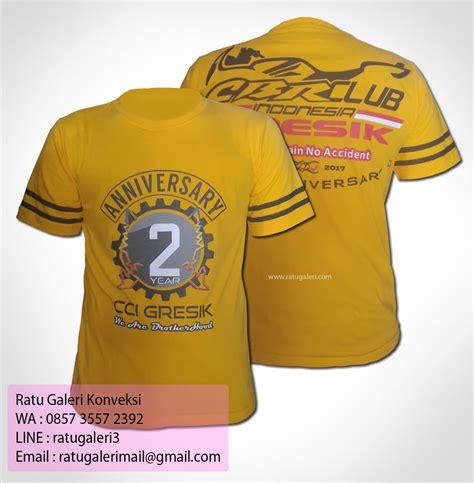 Desain Kaos Anniversary | hasil produksi dan desain kaos anniversary cci