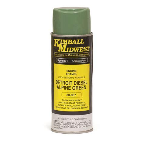 Detroit Diesel Alpine Green Engine Enamel Spray Paint