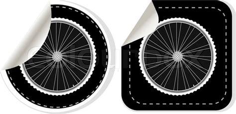 Fahrrad Aufkleber Felgen by Vektor Wei 223 Fahrrad Felgen Aufkleber Set Vektorgrafik