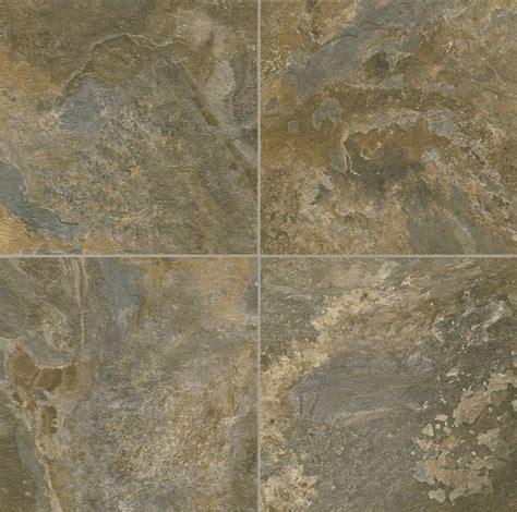 Vinyl Flooring Tile by Armstrong Alterna Reserve Allegheny Slate Italian Earth 16 Quot X 16 Quot Luxury Vinyl Tile D4330