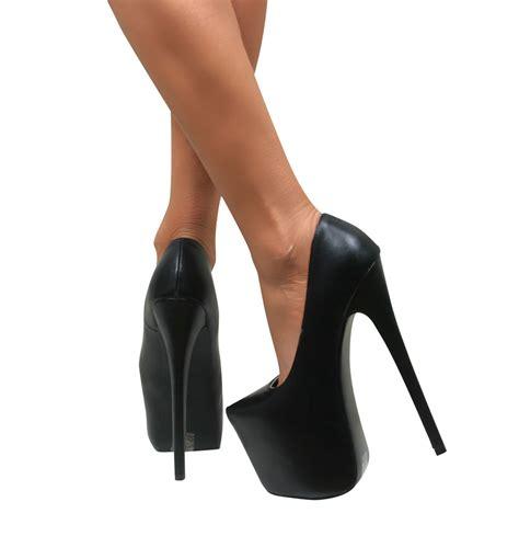 extremely high heels womens platform stiletto high heel pointed