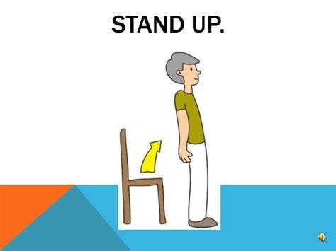 imagenes de stand up classroom commands