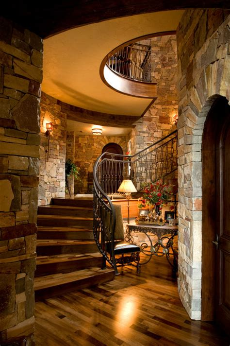 chateau mediterranean staircase minneapolis