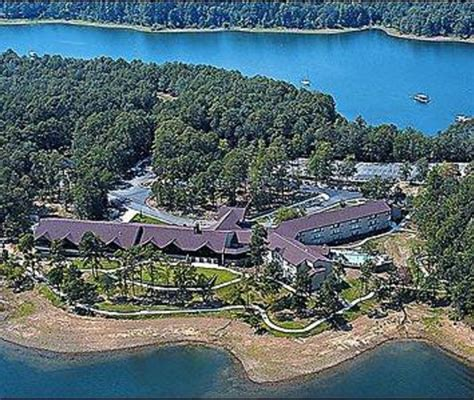 Lake Degray Cabins by Aerial View Of The Lodge At Degray Lake Resort State Park