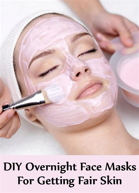 diy overnight mask 7 best diy overnight masks for getting fair skin find home remedy supplements