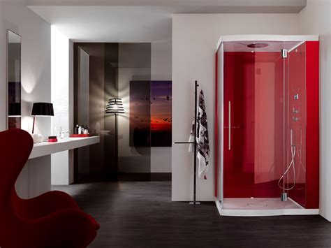 red bathroom designs comfortable ultramodern bathroom designs in red ultra