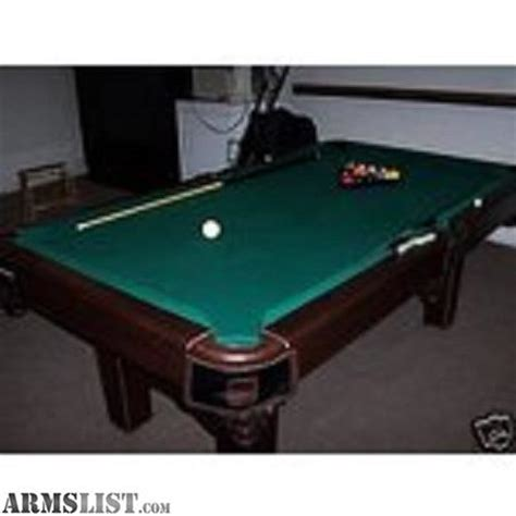 6 pool table for sale armslist for sale trade mizerak 6 pool table to trade