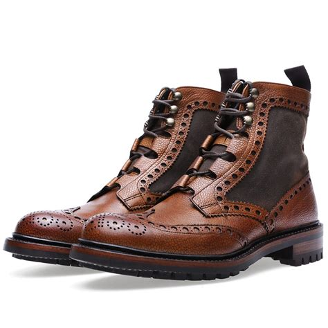boot and shoe brogue boots