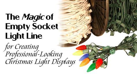 empty socket light line the magic of empty socket light line for creating