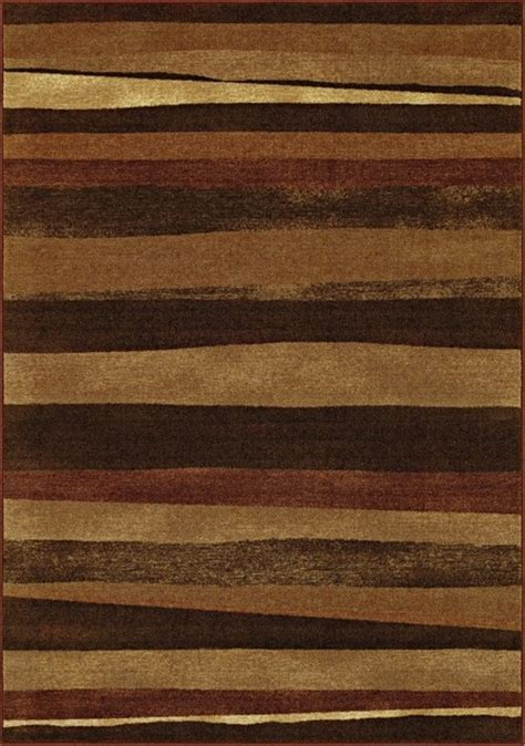 Mission Area Rugs Arts And Crafts Mission Elemental Composition Earth Area Rug Traditional Rugs By Ls Plus
