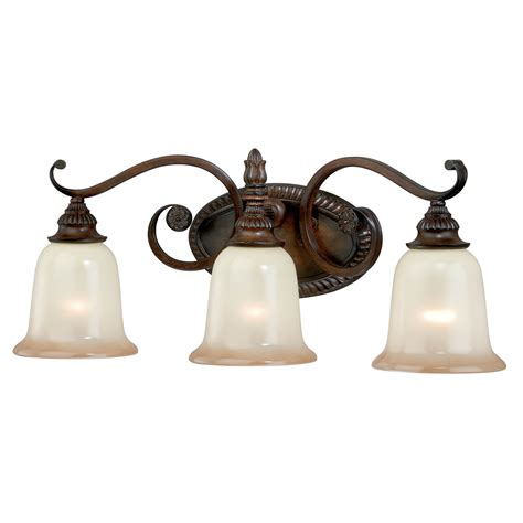 Retro Vanity Light Vintage Carved 3 Light Vanity L