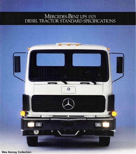 Mercedes Commercial Trucks by Mercedes Lp1219 Lp1419 Lps1525 Commercial