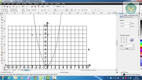 cara membuat garis melengkung di photoshop youtube membuat grafik garis lengkung dengan corel draw youtube