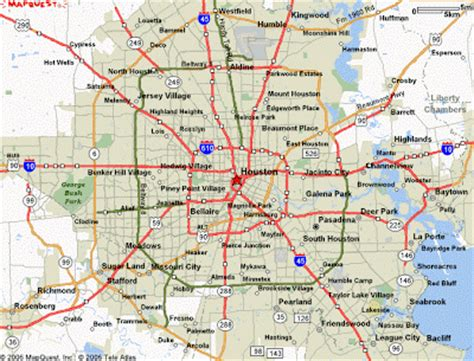 houston map company map of houston free printable maps