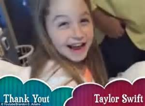 Taylor swift donates 50 000 to a young fan battling leukemia who uses