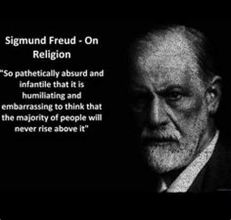Ateisme Sigmund Frued creationist stupidity on pet rocks dating and