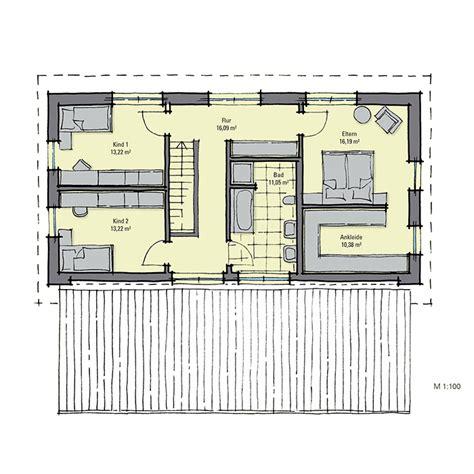 wandschrank grundriss fertighaus mit einliegerwohnung gussek haus