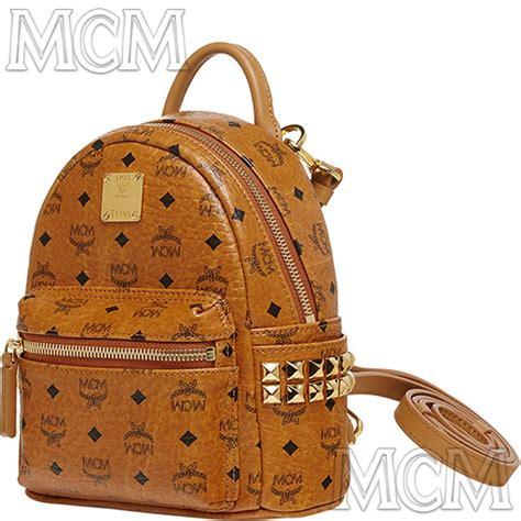 Mcm Stark Bebe Boo Backpack Mini 2015 genuine mcm stark bebe boo x mini backpack cognac mmk5sve92co warranty ebay