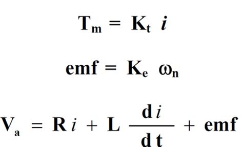 dc motor equations mechanical engineering lab dc motor theory