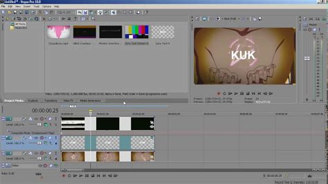 vegas pro tutorial effects sony vegas pro tutorial glitch effect text and scene
