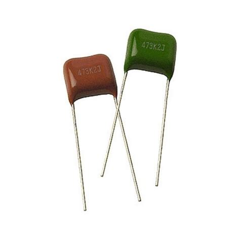 polyester capacitor greencap gcap 1 100 1 100v green cap polyester capacitor radio parts electronics components