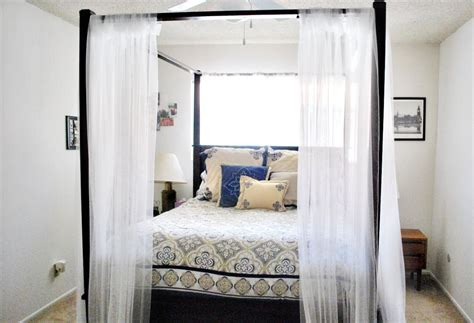 curtains for canopy beds canopy bed curtains hello lovely
