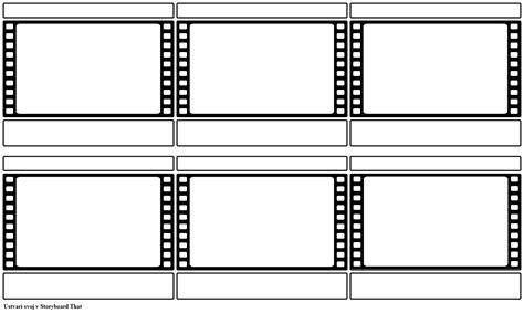 Filmski Trak Snemalna Knjiga Predloga Storyboard Adobe Illustrator Storyboard Template