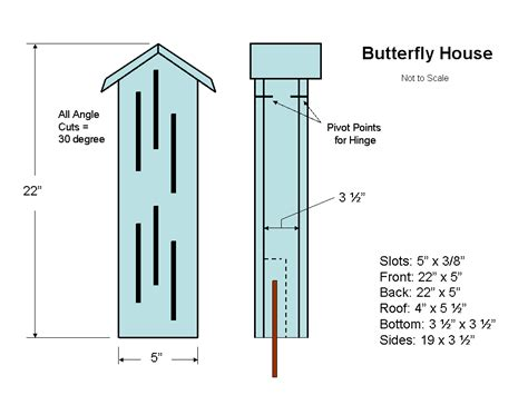 building a house plans diy butterfly house building plans school garden