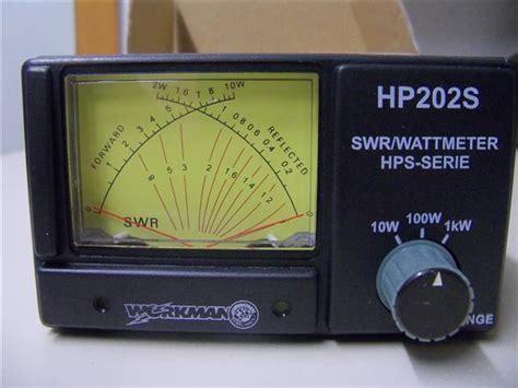 Swr Meter Cbradiomagazine Workman Hp202s Swr Meter
