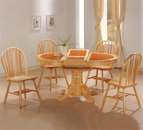 Butterfly Dining Table Set Dining Table With Butterfly Leaf Foter