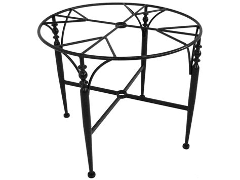 Wrought Iron Dining Room Table Base by Meadowcraft Athens Wrought Iron Dining Room Table Base