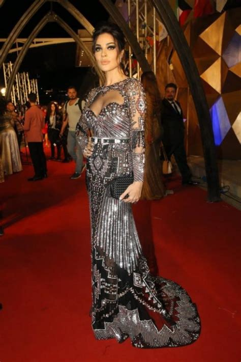 Best Dressed Celebrities at The Murex D'or 2018   Arabia