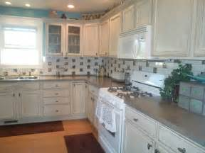 distressed kitchen cabinets home design ideas