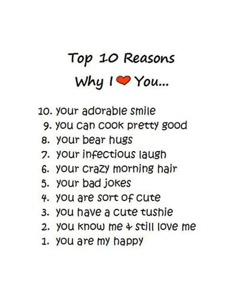 8 Reasons Your Friends Your Boyfriend by Card Top 10 Reasons Anniversary Card