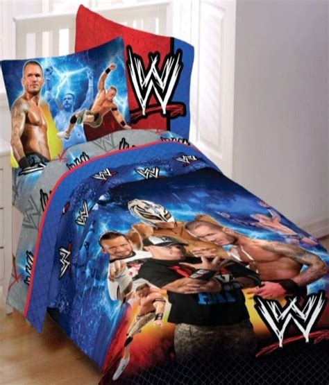 wwe comforter set wwe wrestling chions full comforter sheets 5pc bedding