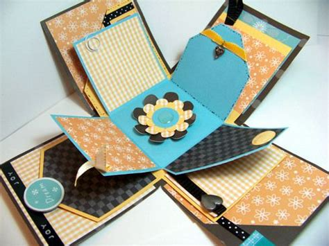 explosion box tutorial scrapbooking exploding box tutorial a cherry on top how to create an