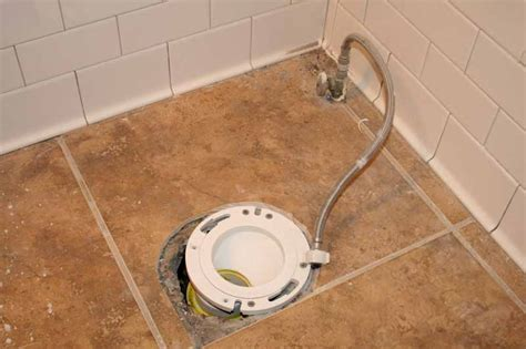 Closet Flange Installation by How To Install An Offset Toilet Flange