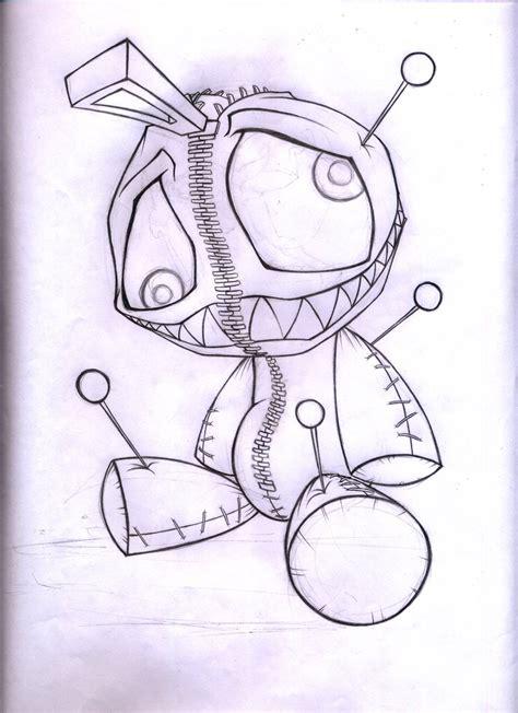 cute voodoo doll drawings alexlinear voodoo doll by abrahamgart on deviantart