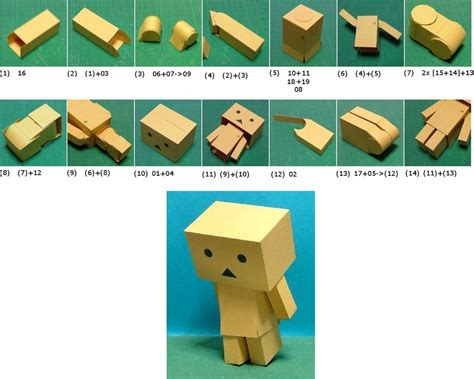Make Papercraft - ui how to make danbo papercraft