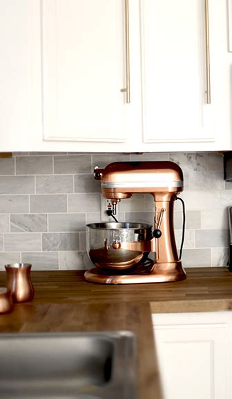 rose gold kitchen appliances incorporating countertop appliances into your kitchen