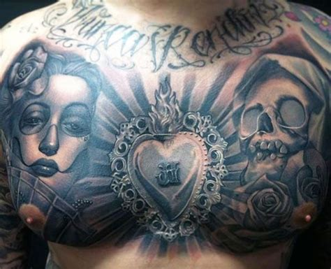 chest tattoo latin studios ink and ink tattoos on pinterest