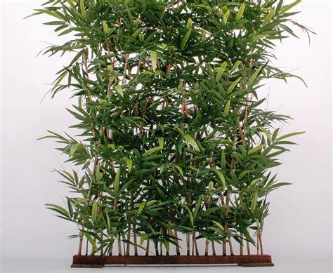 kunstpflanzen wetterfest k 252 nstliche hecke wetterfest aus bambusbl 228 ttern kaufen