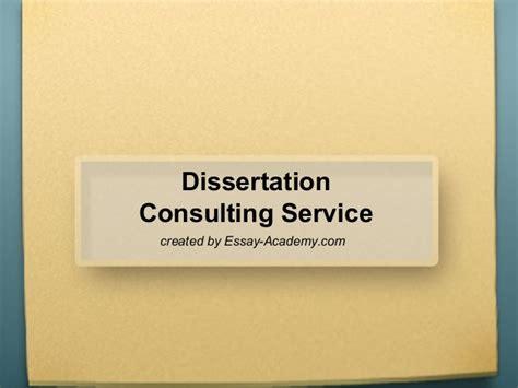 dissertation consultancy dissertation consulting service