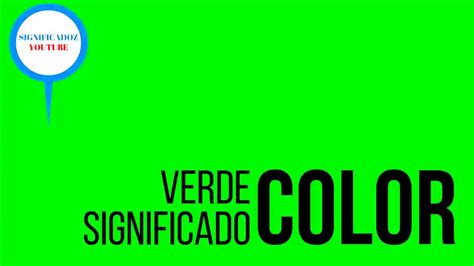 what color is verde verde significado color verde