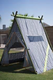 How To Make An Outdoor Canopy Tent by Craftionary
