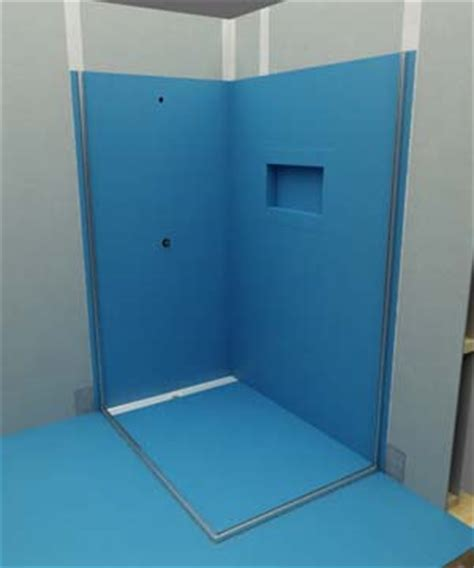Waterproofing Bathtub Walls by Installation Steps Atlantis