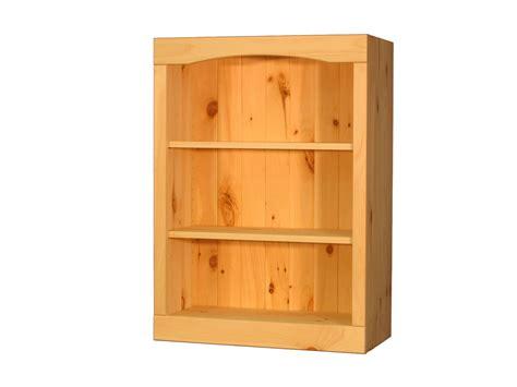 bookcase unfinished pine 24 quot w x 34 quot h x 12 quot d