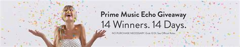 Prime Giveaway - amazon prime music echo giveaway ftm