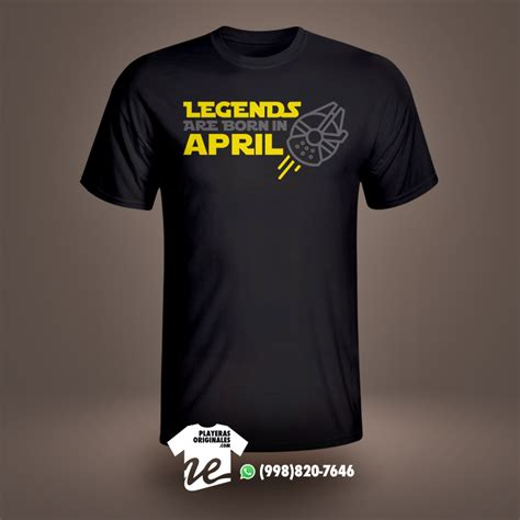 Legends Are Born playera legends are born in playerasoriginales